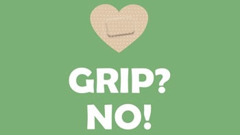 Grip, no. Vacuna't.